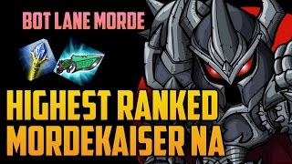 Download HIGHEST RANKED BOT LANE MORDEKAISER MAIN BUILD GUIDE- ″TastyPotatoX″ NA Challenger Video