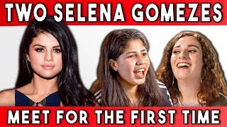 Download TWO SELENA GOMEZES MEET FOR THE FIRST TIME (FBE) Video