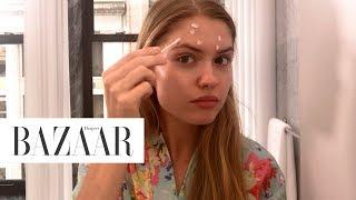 Download Model Alexandria Morgan's Nighttime Routine | Harper's BAZAAR Video