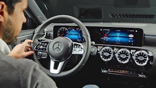 Download Mercedes A-Class (2018) High-Tech Interior Video