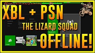 Download XBOX LIVE AND PSN OFFLINE - The Lizard Squad Wins Over The Finest Squad - Servers Down on Christmas Video