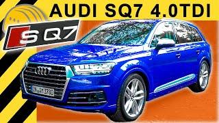 Download 900Nm Dampfhammer! AUDI SQ7 V8 TDI TEST inkl. 3,5t Anhänger   Schnellstes Diesel SUV 2018? Video