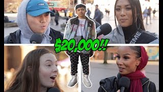 Download COLLEGE STUDENTS TRY TO GUESS THE VALUE OF A $20,000 HYPEBEAST OUTFIT! CAN THEY!? Video