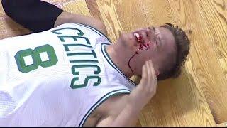 Download James Harden HITS Jonas Jerebko in the face | Celtics vs Rockets | 1/25/17 Video