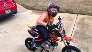 Download Ssr 110 dx pit bike Video