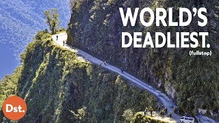 Download The Scariest Road in the Entire World: Bolivia's Death Road! Video