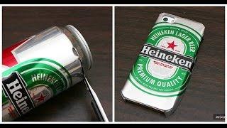 Download Aprende cómo hacer un case de tu cerveza favorita usando la lata ¡Está súper fácil! Video