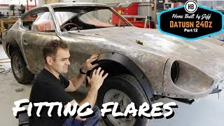 Download Fitting wheel arch flares - Home Built Datsun 240z part 12 Video