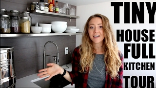 Download TINY HOUSE FULL KITCHEN TOUR / 42 SQUARE FEET! Video