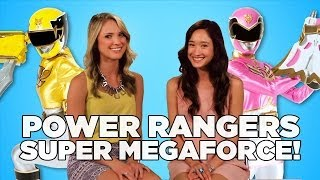 Download Power Rangers Super Megaforce Stars Talk KCAs! Video