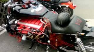 Download 12 Zylinder Aston Martin MOTORBIKE...!!!! SELF-MADE...!!! Video