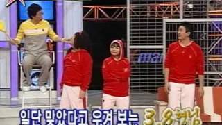 Download Funny Elimination Ball Game (feat. DBSK + Park Myung Soo + Kang Ho Dong ) ( eng sub ) Video