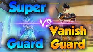 Download Super Guard vs Vanish Guard! Which Shield is Stronger? - Dragon Ball Xenoverse 2 Video