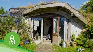 Download Enter the Hobbit Hamlet of DIY Eco-Homes Video