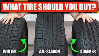 Download Summer vs Winter vs All Season - What Tires Should You Buy? Video