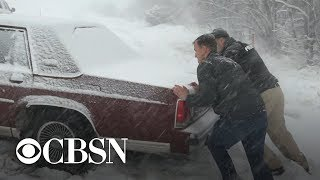 Download Massive winter storm hitting 200 million Americans Video