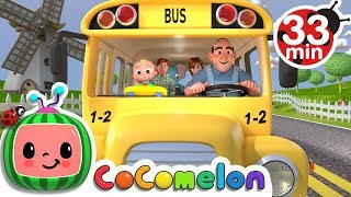 Download Wheels on the Bus | +More Nursery Rhymes & Kids Songs - Cocomelon (ABCkidTV) Video