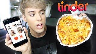 Download i let TINDER pick my foods for 24 hours !!! Video