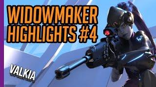 Download Widowmaker Frag/Kill Highlights #4 Overwatch Gameplay Video