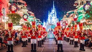 Download Magic Kingdom Live Stream - Mickey's Very Merry Christmas Party 12-1-17 - Walt Disney World Video