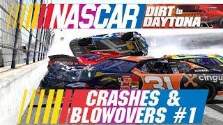 Download NASCAR: Dirt to Daytona Crashes & Blowovers #1 Video