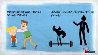 Download Leaders vs managers Video