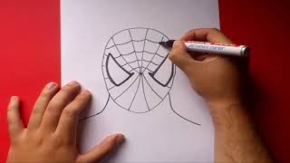 Download Como dibujar a Spiderman paso a paso | How to draw Spiderman Video