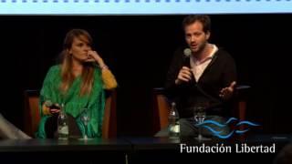 Download XII CEP | Gloria Álvarez y Axel Kaiser presentaron ″El engaño populista″ Video