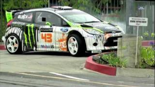 Download Ken Block Gymkhana 4 - Ford Fiesta Video