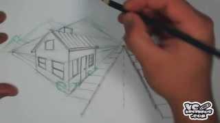 Download Como desenhar um cenário com 2 pontos de fuga Video