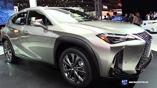 Download 2019 Lexus UX 200 F Sport - Exterior and Interior Walkaround - Debut 2018 New York Auto Show Video