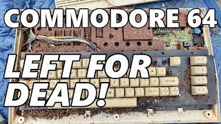 Download Commodore 64 left outside for over a decade! Could it still work?? Video