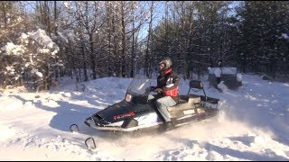 Download Yamaha Viking VK540, test ride, PowerModz recovery sled! Video