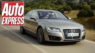 Download Audi A7 review - can it match rivals from BMW and Mercedes? Video