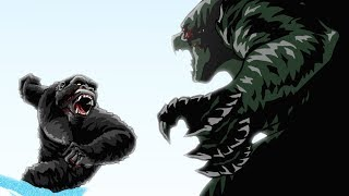 Download Godzilla vs. King Kong Animated (Part 3/3) Video