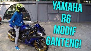 Download Yamaha R6 Modif Ganteng! - #46 Modifan dan Suara Knalpot Arrownya Keren Abis! Video