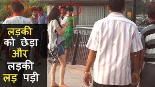 Download Girl Fights Back - Eve Teasing Caught On Camera In Social Experiment Video