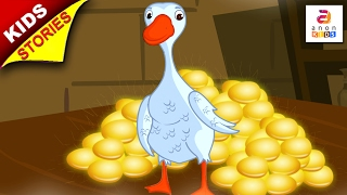 Download Short Stories for Kids | The Goose and The Golden Egg | Aesop fables in English by Anon Kids Video