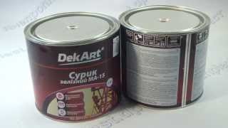 Download Сурик МА 15 кр коричневая 2,5кг ТМ DekArt Video