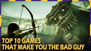 Download TOP 10 GAMES THAT MAKE YOU THE BAD GUY | #ZOOMINGAMES Video