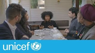 Download 7 strangers. 7 stories. 1 table.   UNICEF Video