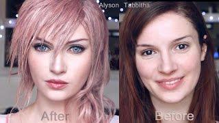 Download Lightning Final Fantasy Makeup Transformation - Cosplay Tutorial Video