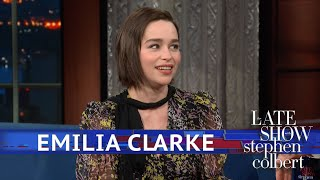 Download Emilia Clarke Told One Person How 'Game Of Thrones' Ends Video