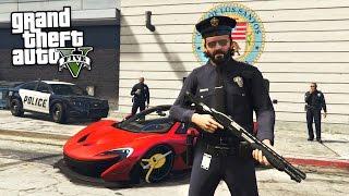 Download GTA 5 Real Life Mod #40 - POLICE PATROL!! (GTA 5 Mods) Video