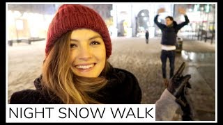 Download PHOTOSHOOT AND NIGHT SNOW WALK | Niomi Smart Video