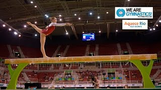 Download HIGHLIGHTS - 2016 Olympic Test Event, Rio (BRA) - Women's Individual Apparatus finals Video
