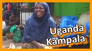Download Uganda - Kampala Street Market Video