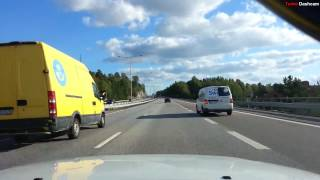 Download Turbo Dashcam #1 - Fast and slow in Stockholm Video