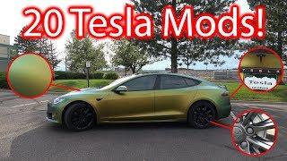 Download 20 Tesla Model S Modifications! Video