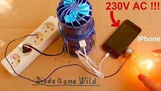 Download Deadly Lantern Fan - There's 230V AC in my iPhone !!! Video